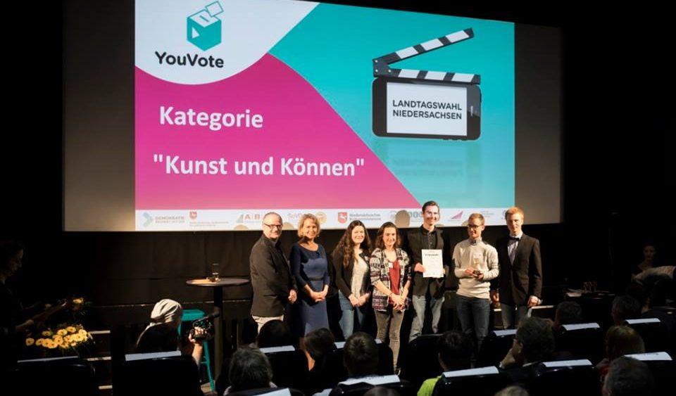 h1-Team gewinnt YouVote-Videowettbewerb